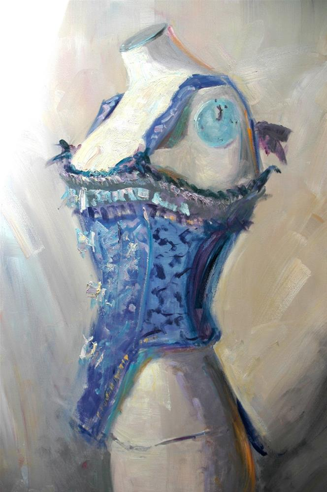 """Nattier Blues"" original fine art by Johanna Spinks"