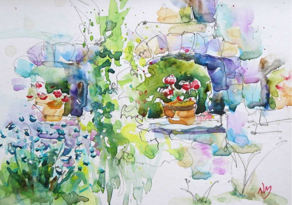 """between"" original fine art by Nora MacPhail"