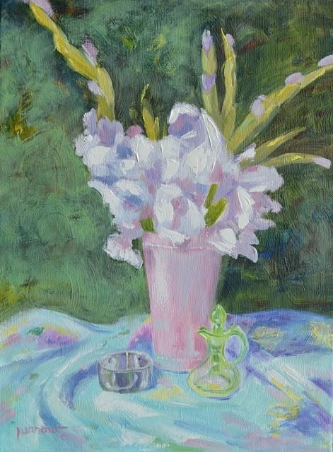 """Leslie Saeta's 30 Day Challenge - Day 27"" original fine art by Sue Furrow"