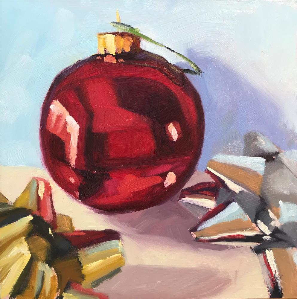 """""""Bulb and Bows"""" original fine art by Sharon Schock"""