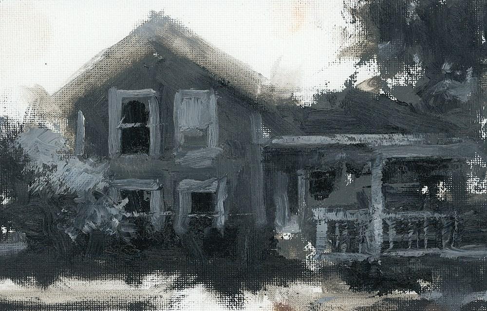 """Home Values"" original fine art by Todd Zuithof"