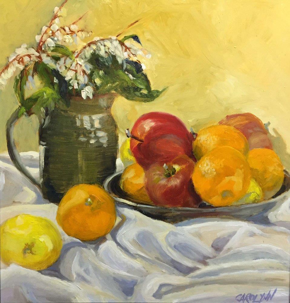 """After Cezanne"" original fine art by Carolynn Doan"