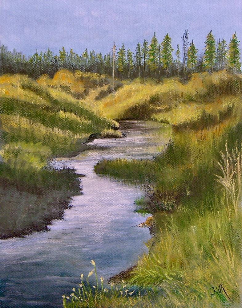 """Sierra Nevada Morning"" original fine art by Judy Rath"