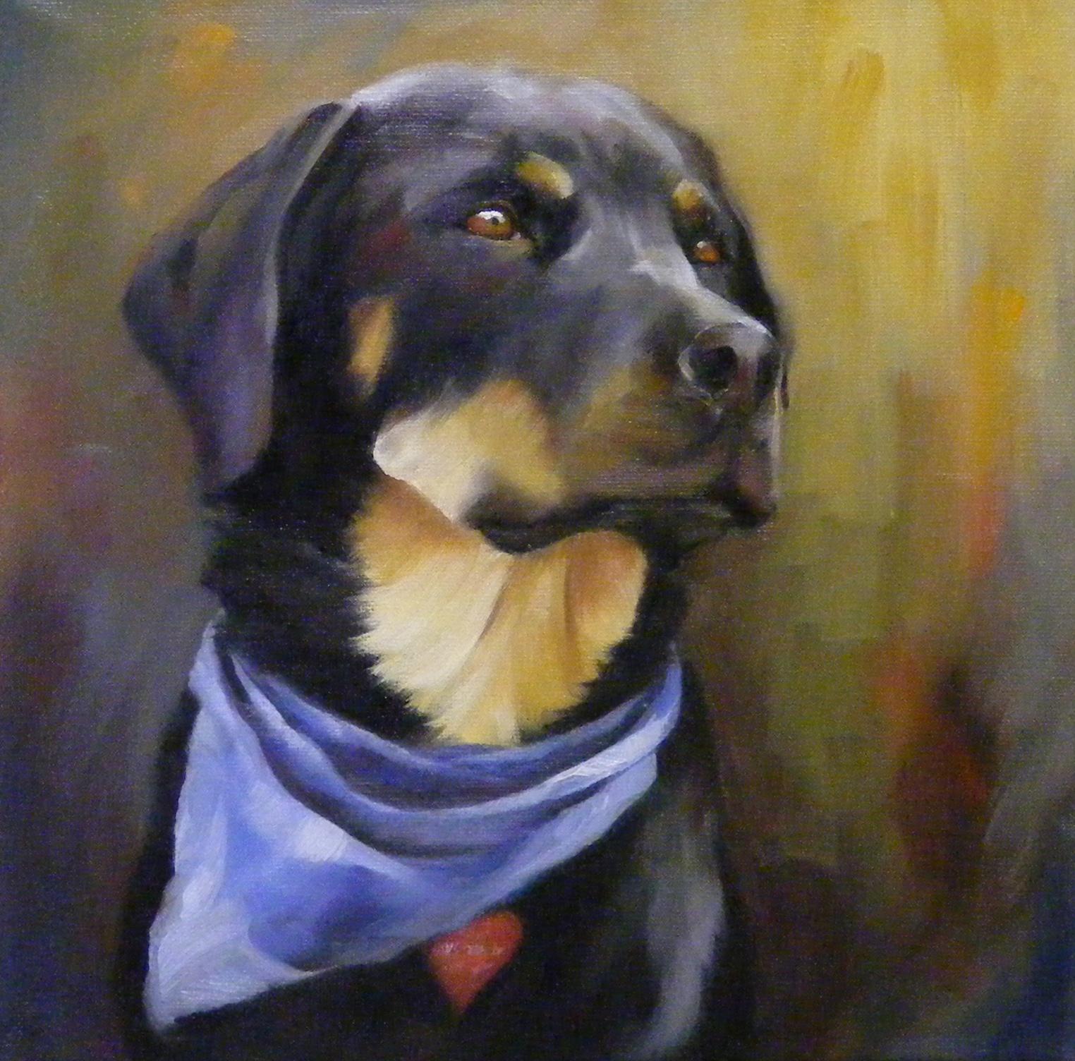 """""""Miss Mattie, Portrait, Oil"""" original fine art by Diana Delander"""