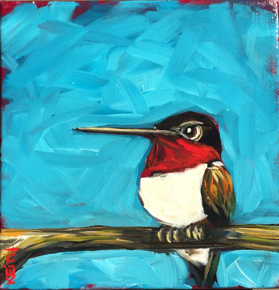 """Smitty"" original fine art by Kandice Keith"