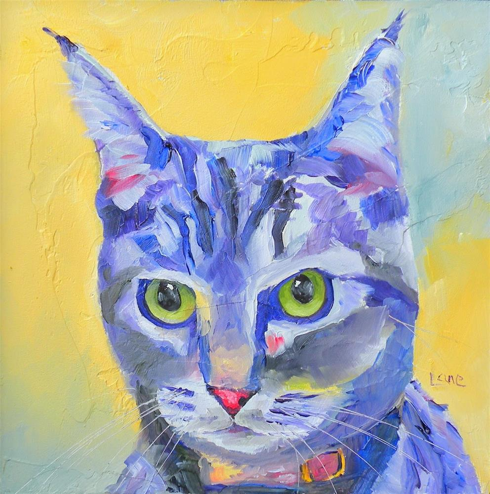 """MISTY 27/100 OF 100 PET PORTRAITS IN 100 DAYS © SAUNDRA LANE GALLOWAY"" original fine art by Saundra Lane Galloway"
