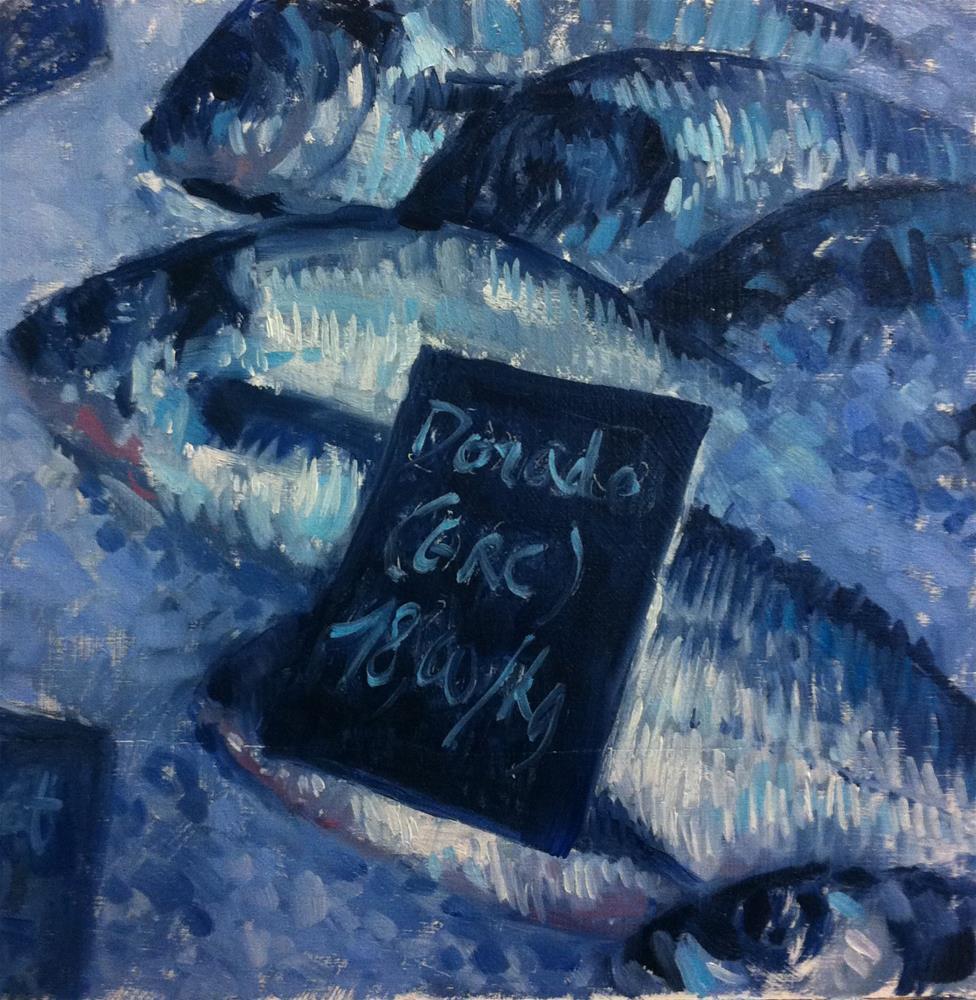"""""""grey sea breams"""" original fine art by Catherine Harley"""