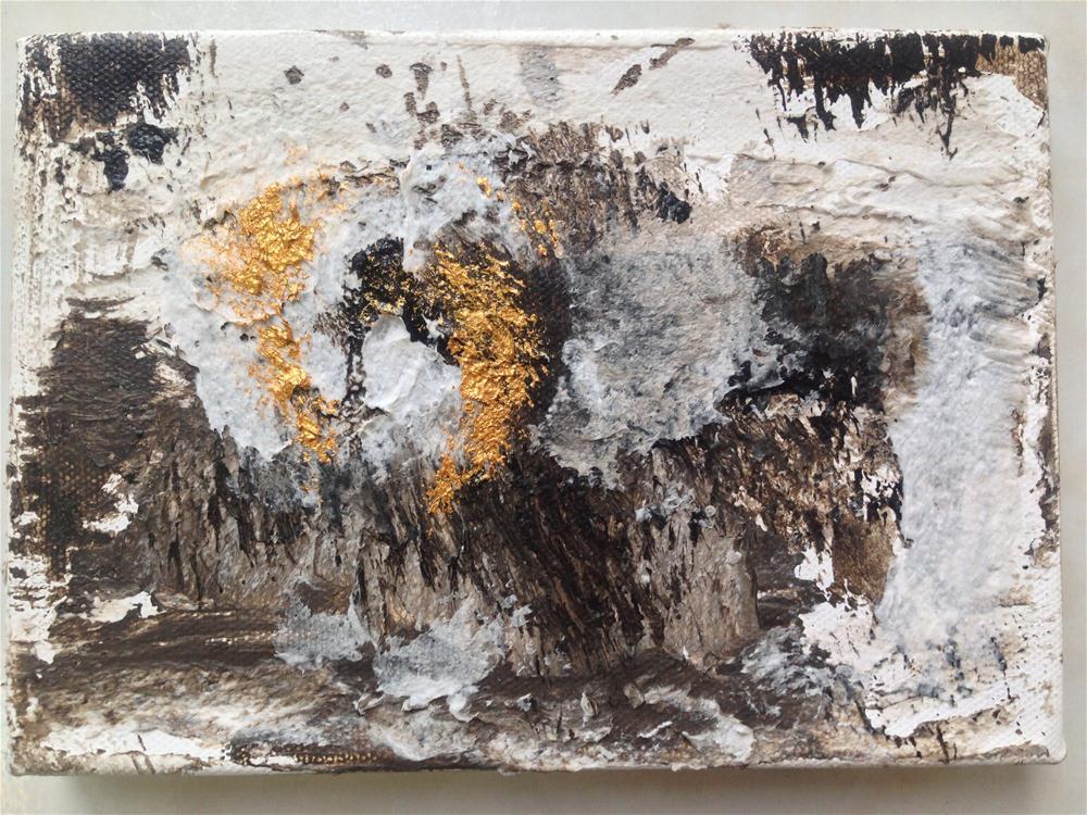 """Meditation022213"" original fine art by Kamila Behrens"