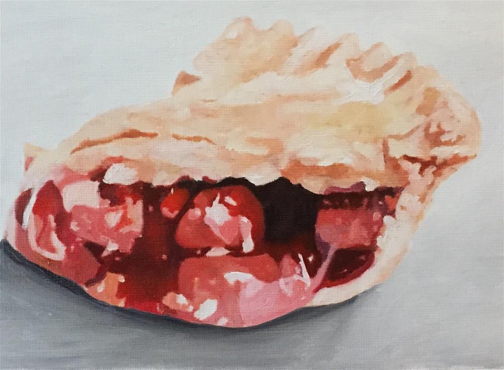 """Cherry Pie Delight"" original fine art by John Cameron"