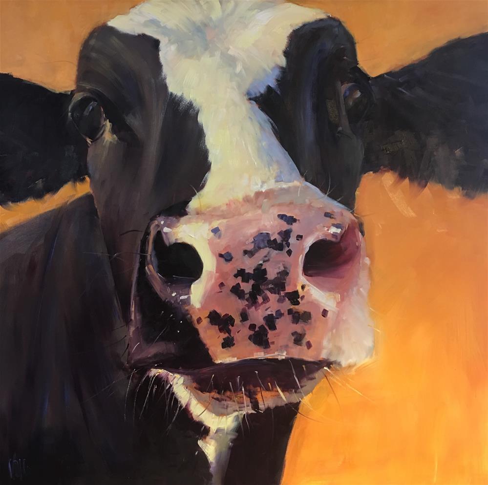"""""""Freckles"""" original fine art by Patty Voje"""