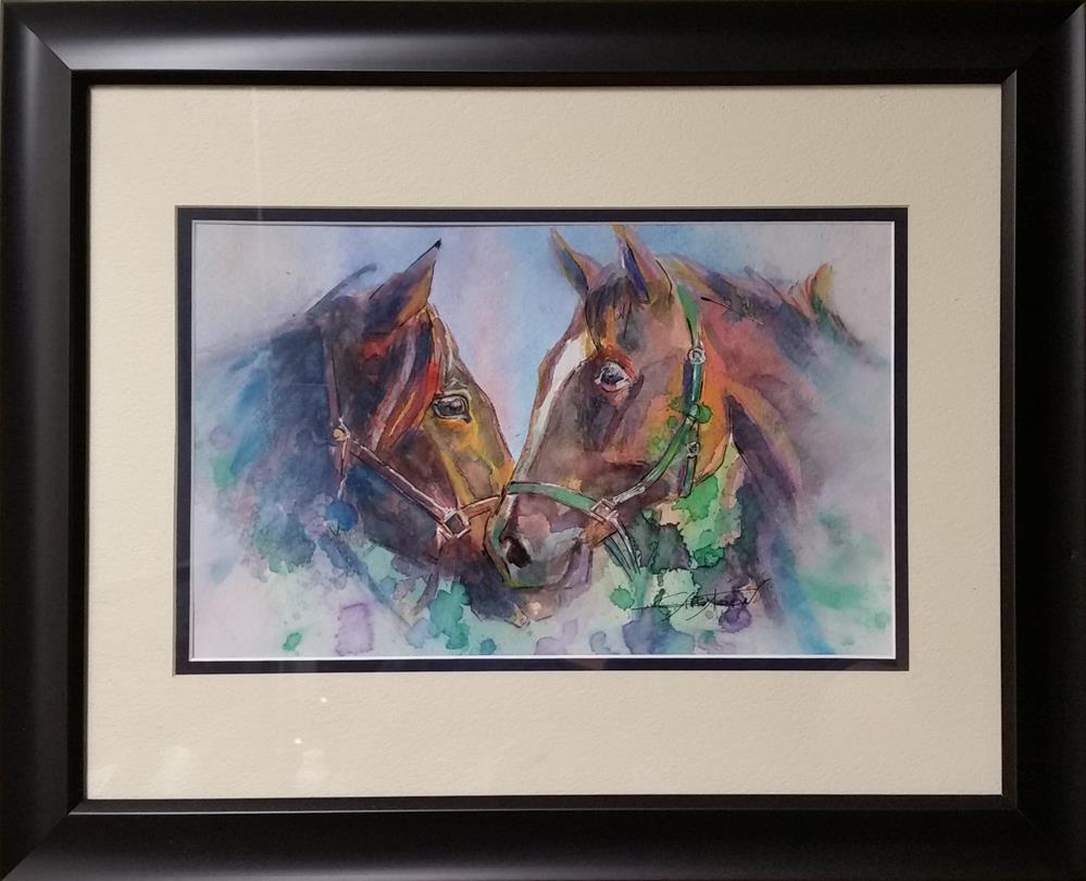 """Love"" original fine art by Gabriella DeLamater"