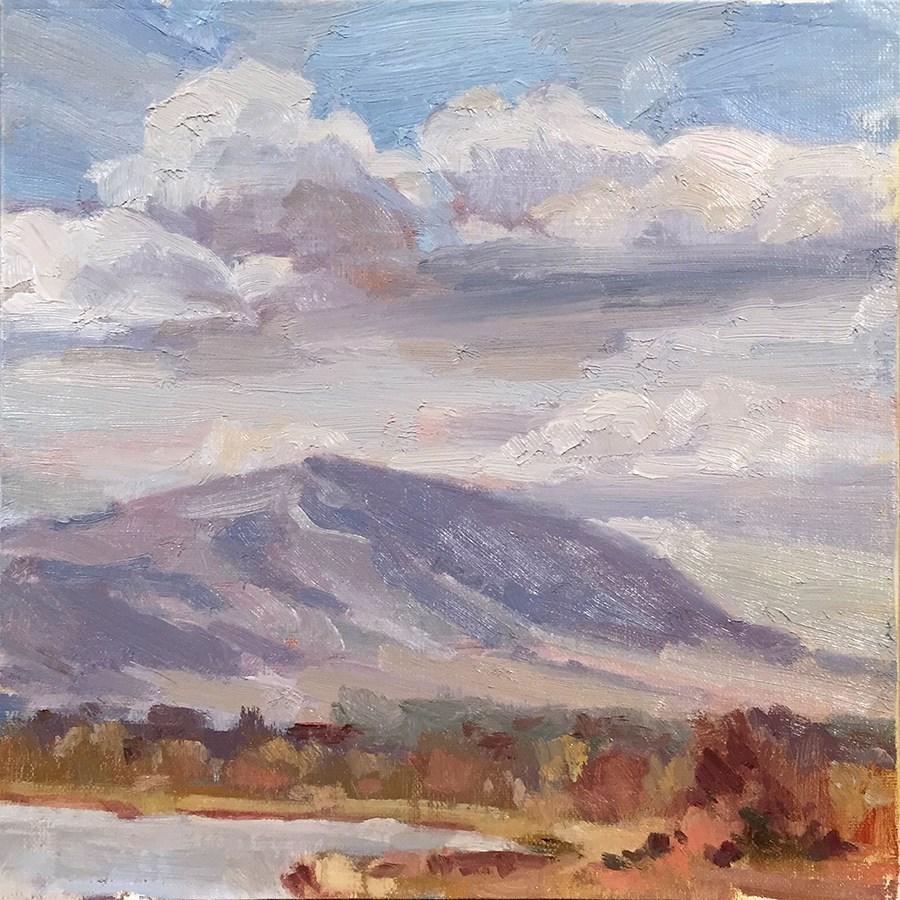 """Clouds Overhead"" original fine art by Laura Gable"