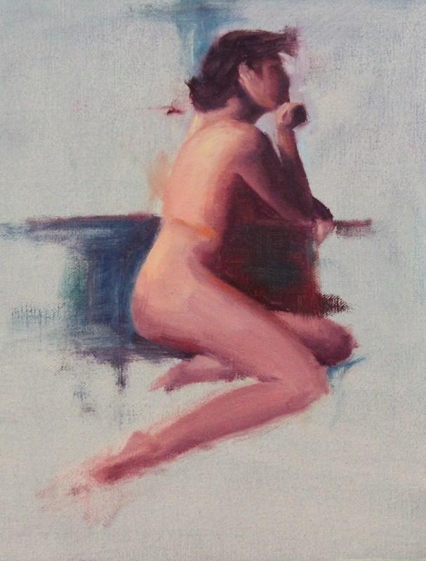"""Figure Sketch"" original fine art by Thorgrimur Andri Einarsson"