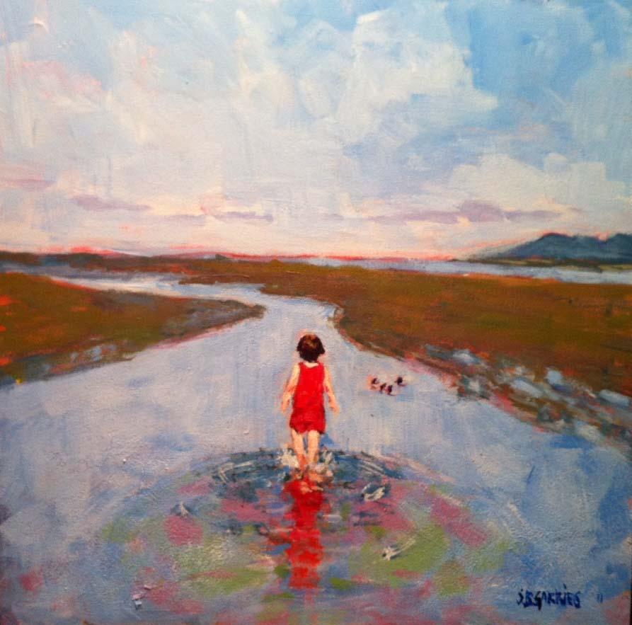 """""""Penelope"""" original fine art by Shelley Garries"""