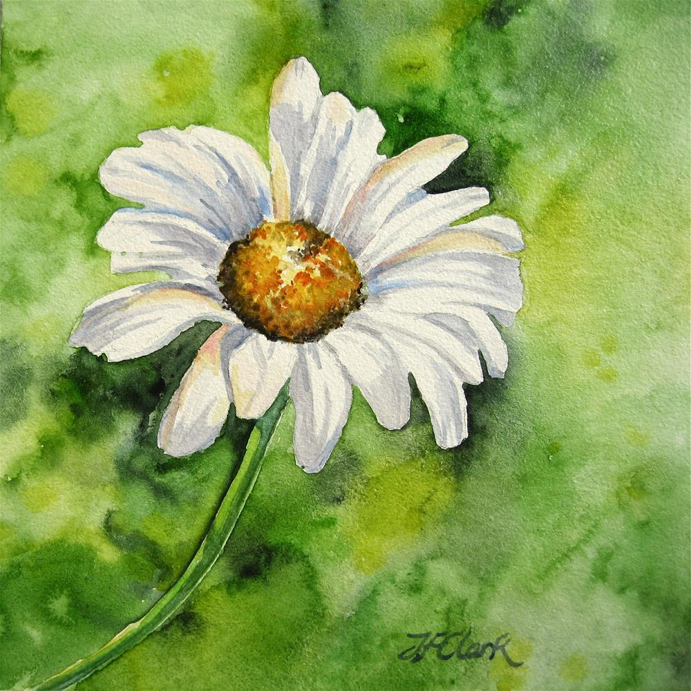 """Friendly"" original fine art by Judith Freeman Clark"