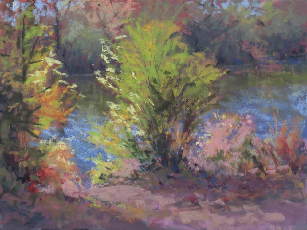 """River Candy"" original fine art by Marsha Savage"