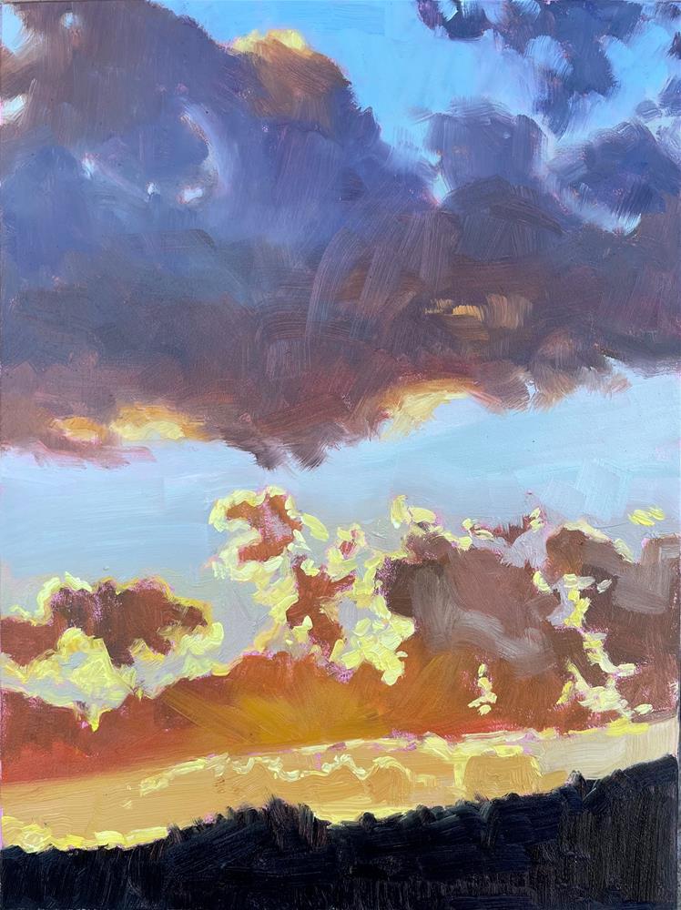 """Sun Halos"" original fine art by Carol Granger"