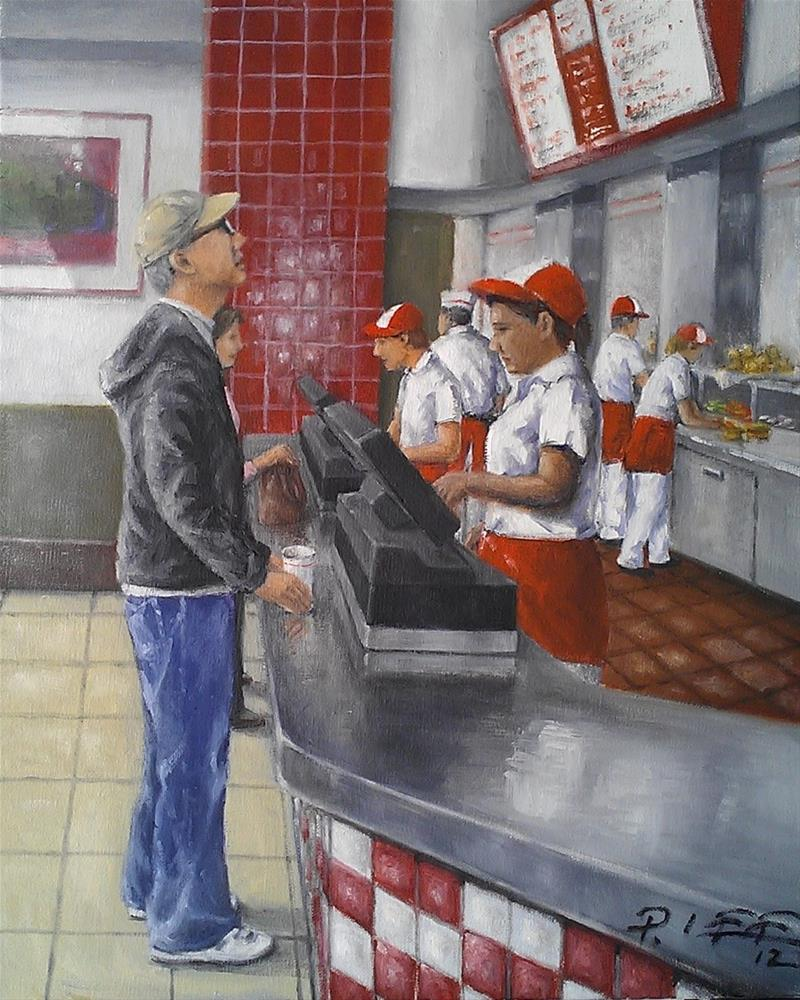"""""""In-N-Out Experience"""" original fine art by Peter Lee"""