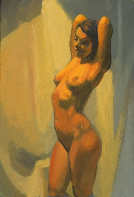 """Torso"" original fine art by Peter Orrock"