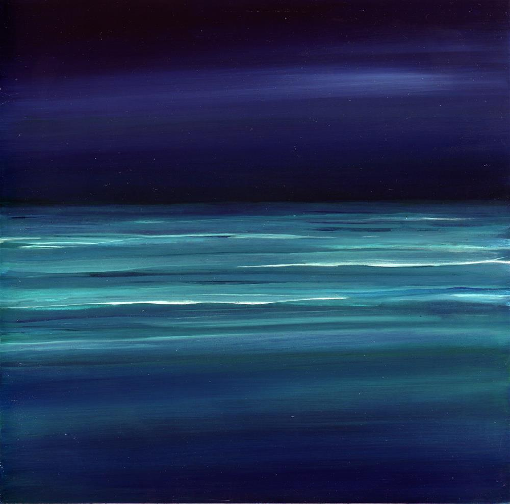 """Ocean Meditation #9"" original fine art by Anne Ducrot"