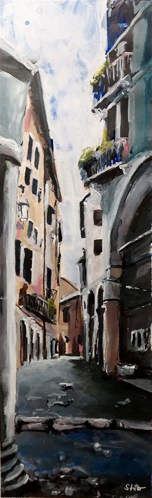 """2403 Streetview Padova"" original fine art by Dietmar Stiller"