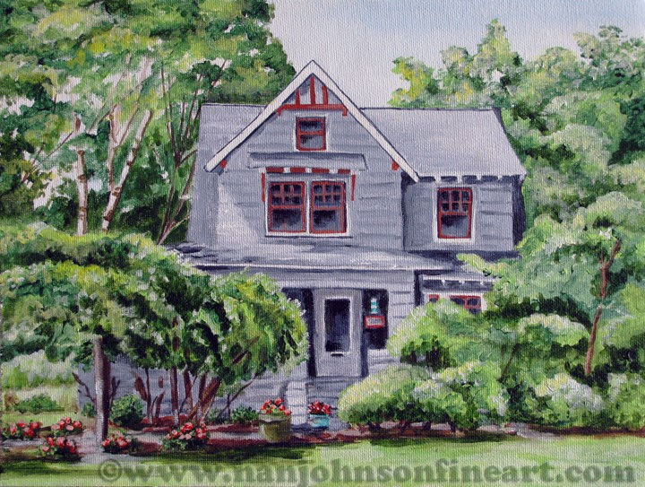 """Midland Road"" original fine art by Nan Johnson"