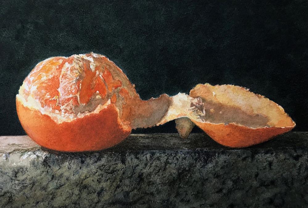 """Peeled"" original fine art by Stephen Ravenscraft"