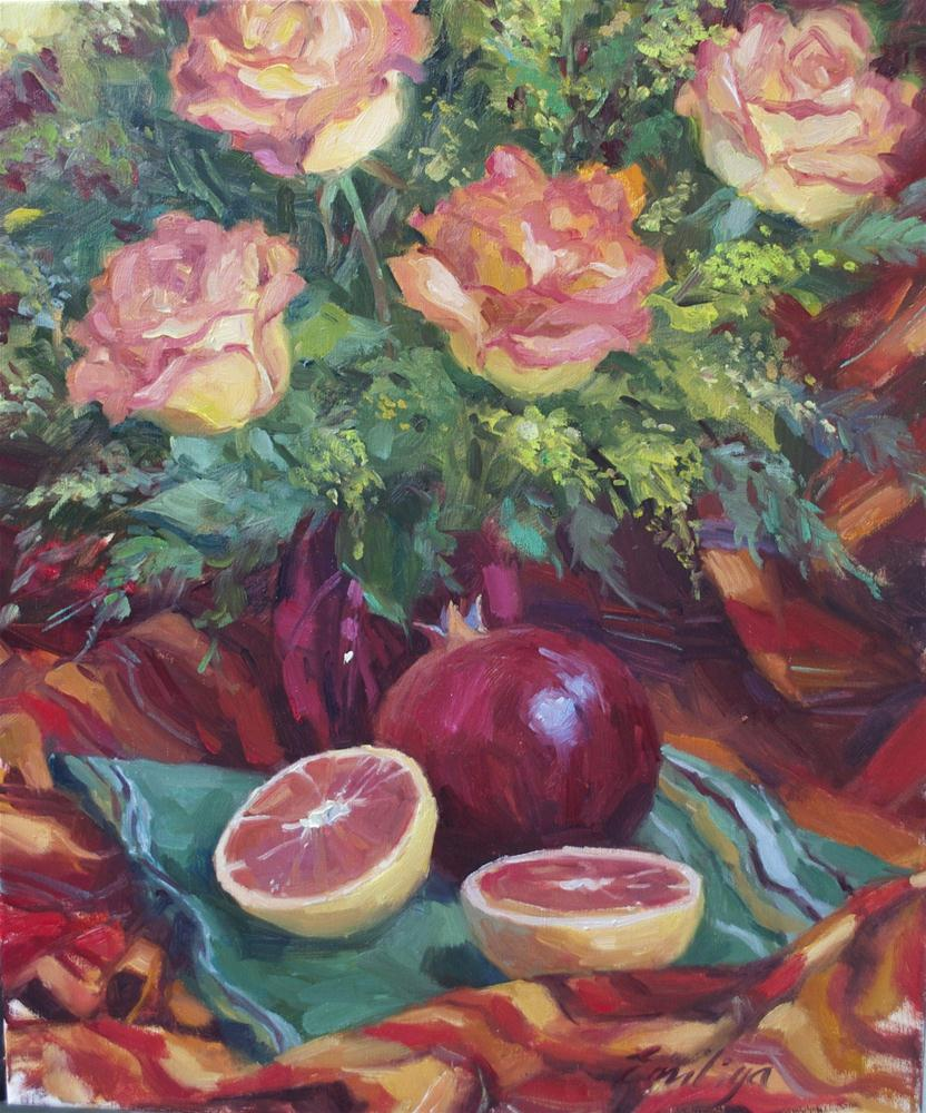 """Sudden December oil on linen, 24x20"" original fine art by Emiliya Lane"