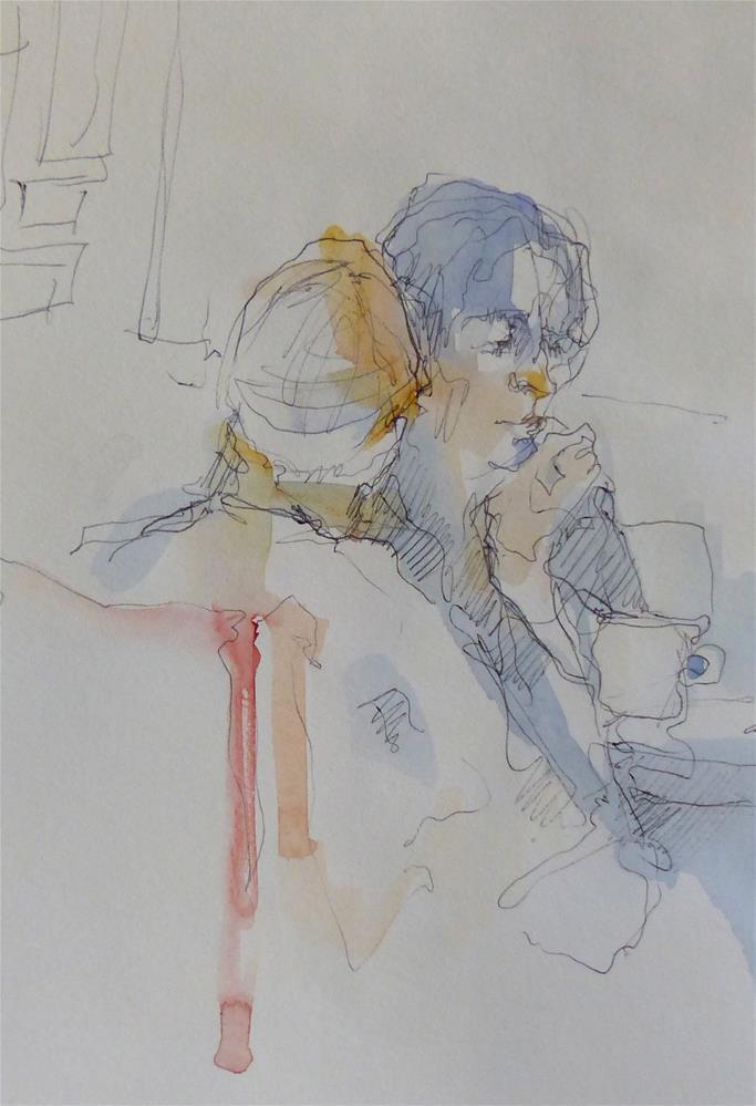 """sketchbook6"" original fine art by Katya Minkina"