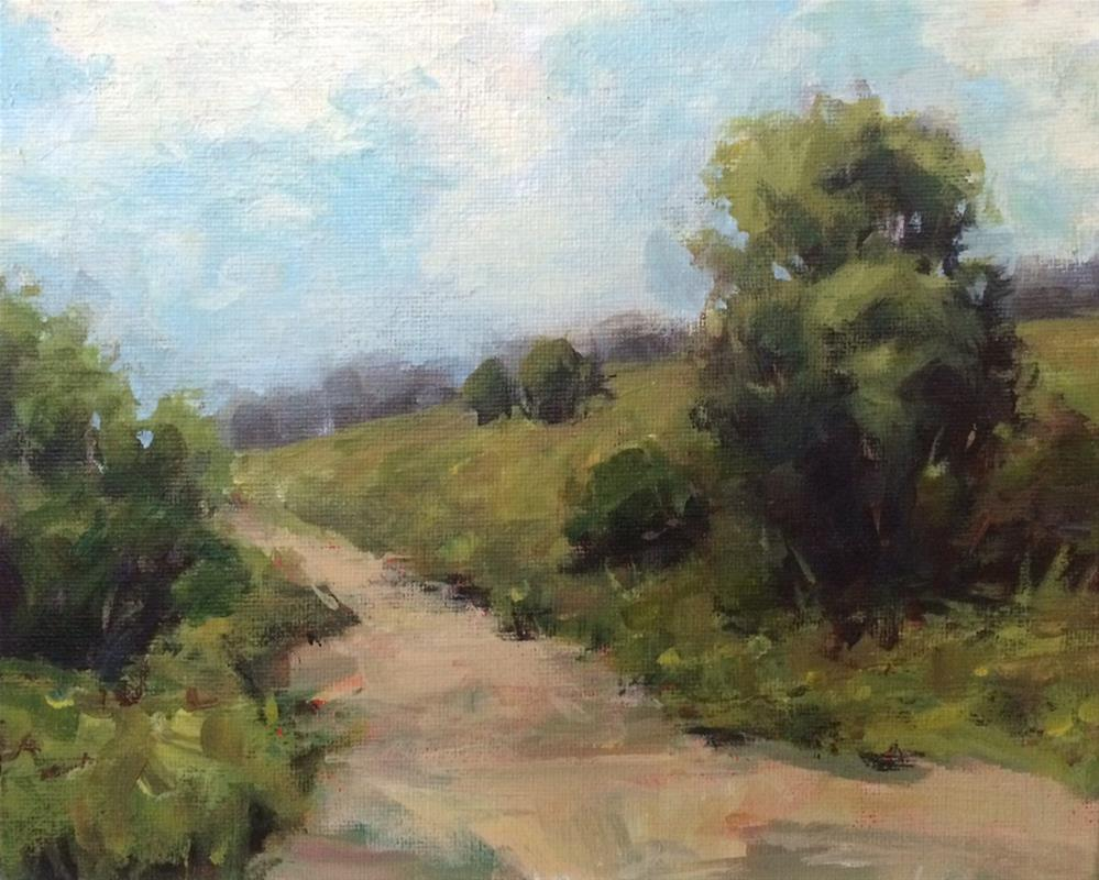 """""""Day for a Stroll"""" original fine art by Shannon Bauer"""