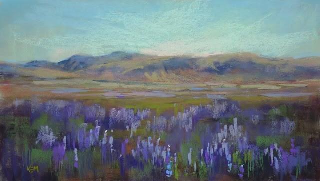 """""""Seeing Iceland ...Through an Artist's Eyes part one"""" original fine art by Karen Margulis"""