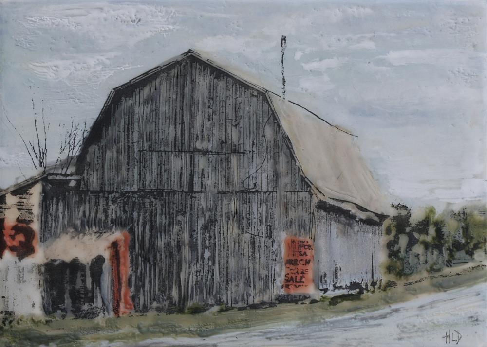 """Hay For Sale"" original fine art by Heather Douglas"