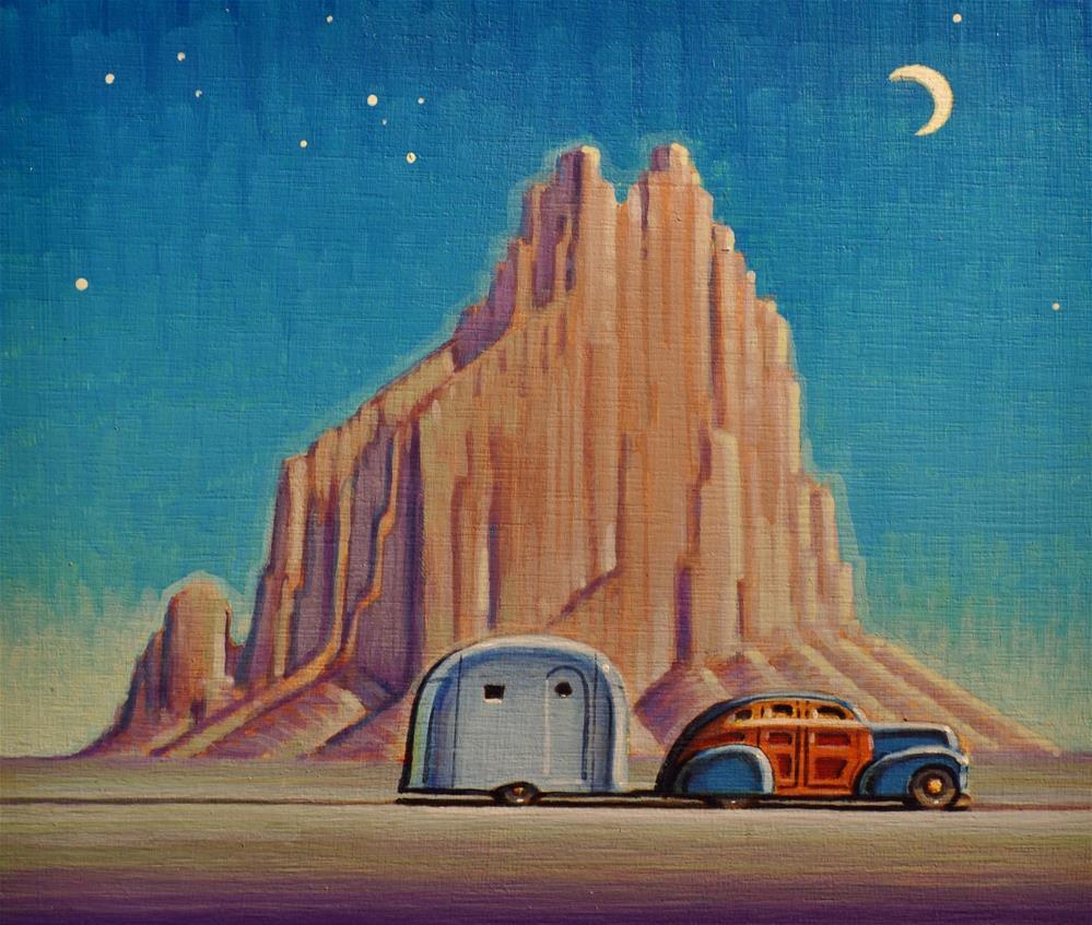 """Nomad"" original fine art by Robert LaDuke"