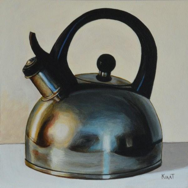 """My Old Tea Kettle"" original fine art by Kim Testone"