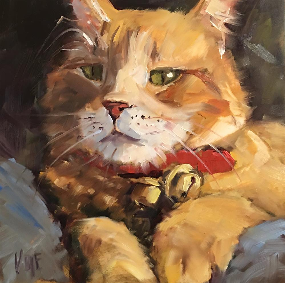 """#443 The Big Man"" original fine art by Patty Voje"