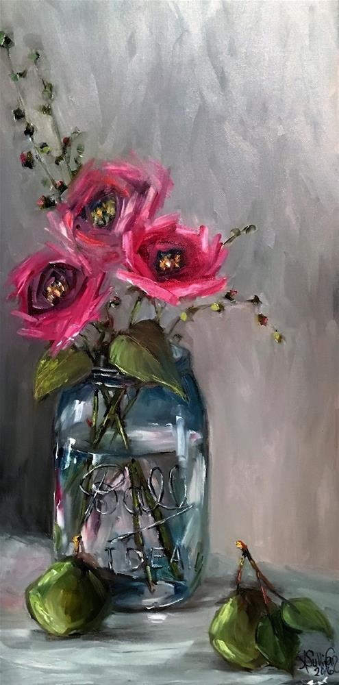 """See Through still life painting by Alabama Artist Angela Sullivan"" original fine art by Angela Sullivan"