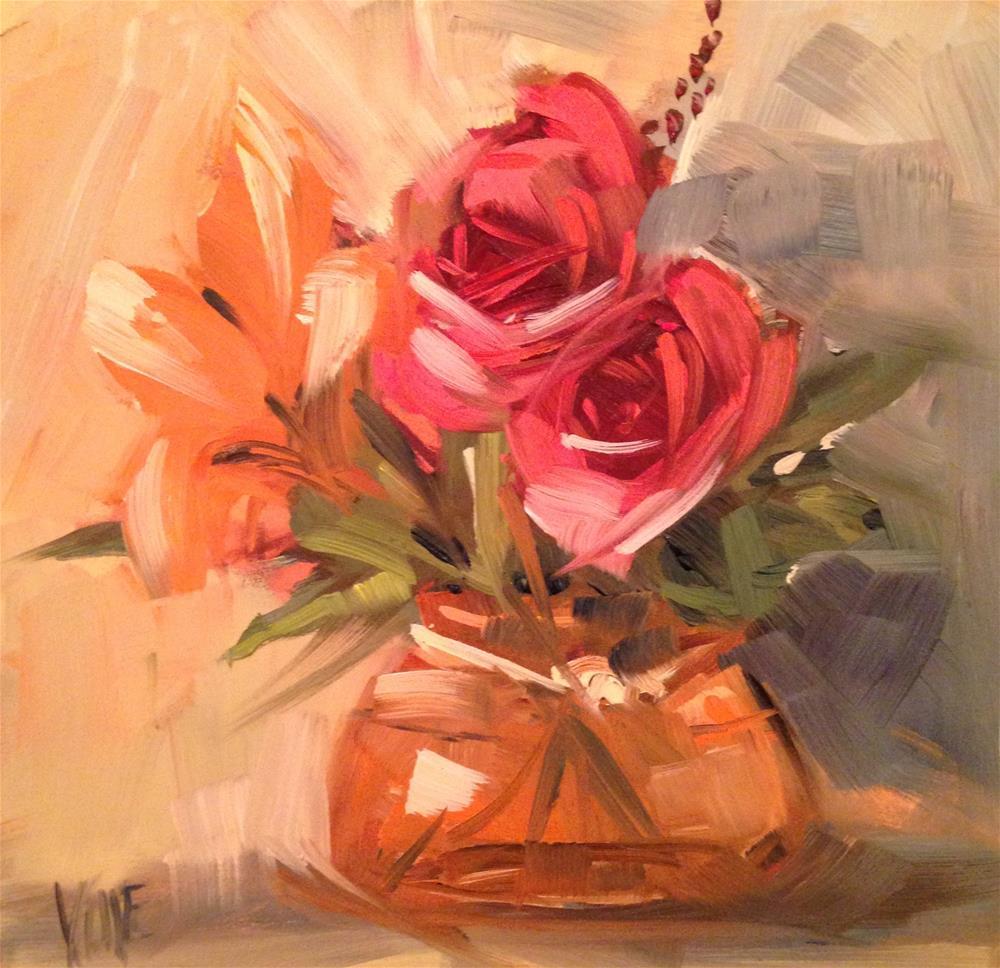 """#197 October Color"" original fine art by Patty Voje"