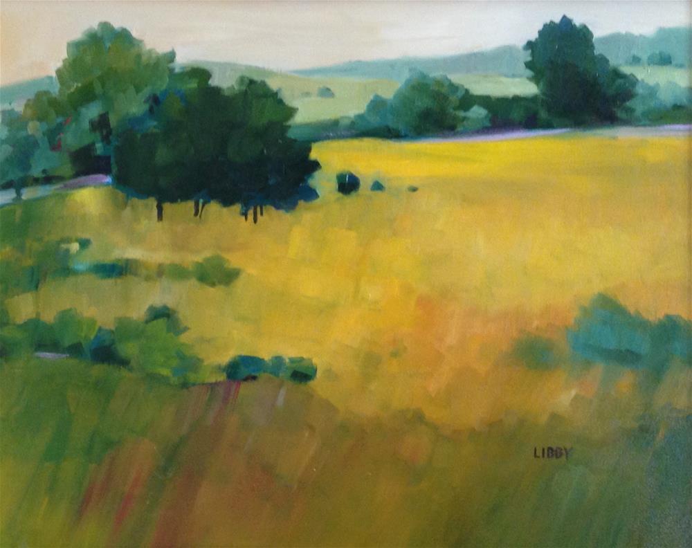 """Lavender Edge"" original fine art by Libby Anderson"