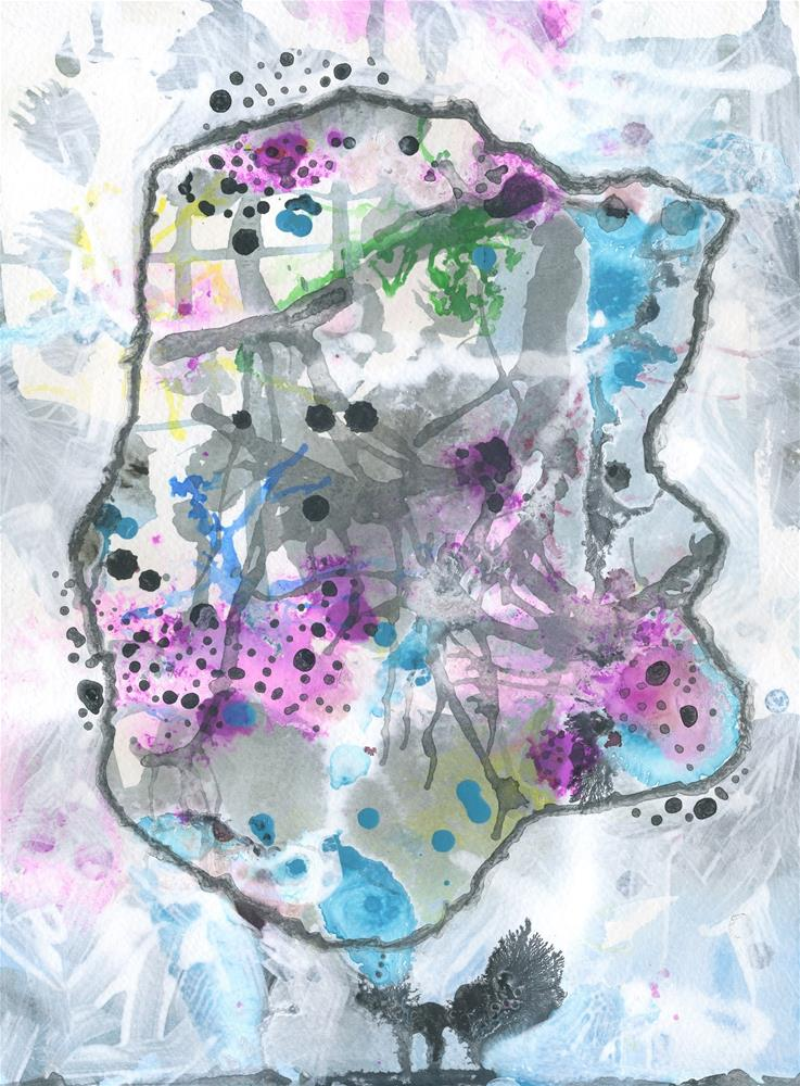 """In the Mind of a Cat"" original fine art by Kali Parsons"