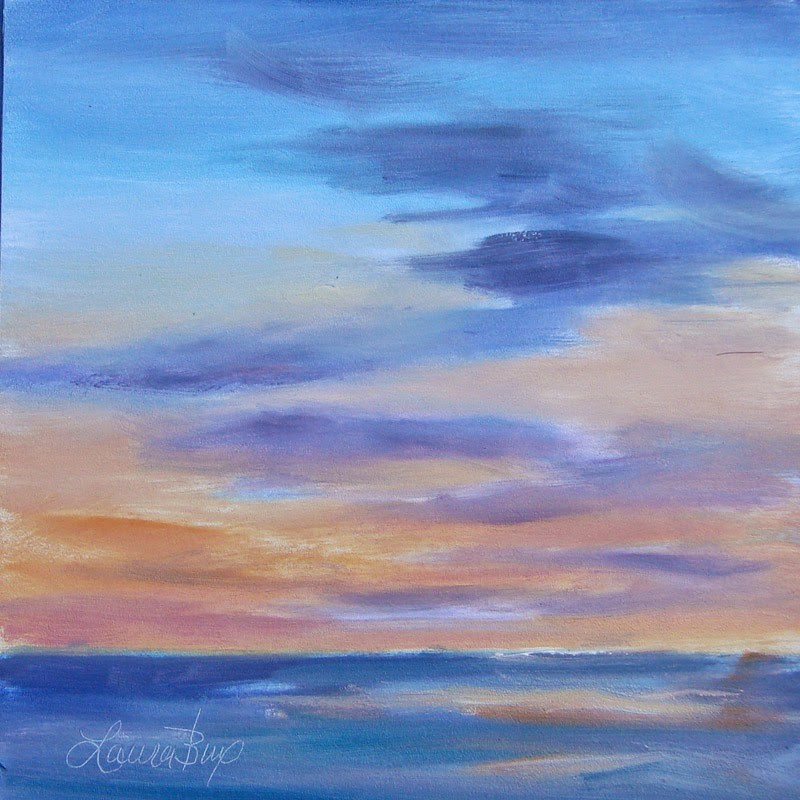 """Just a Bit Later 294"" original fine art by Laura  Buxo"