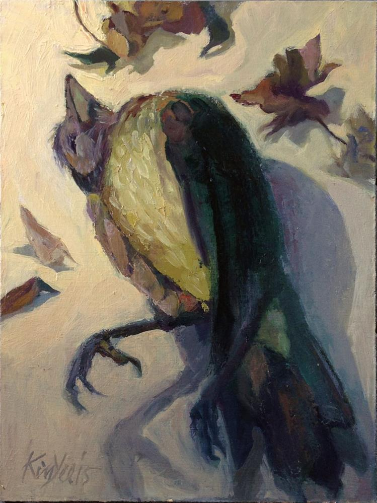 """Gone Bird"" original fine art by Myriam Kin-Yee"