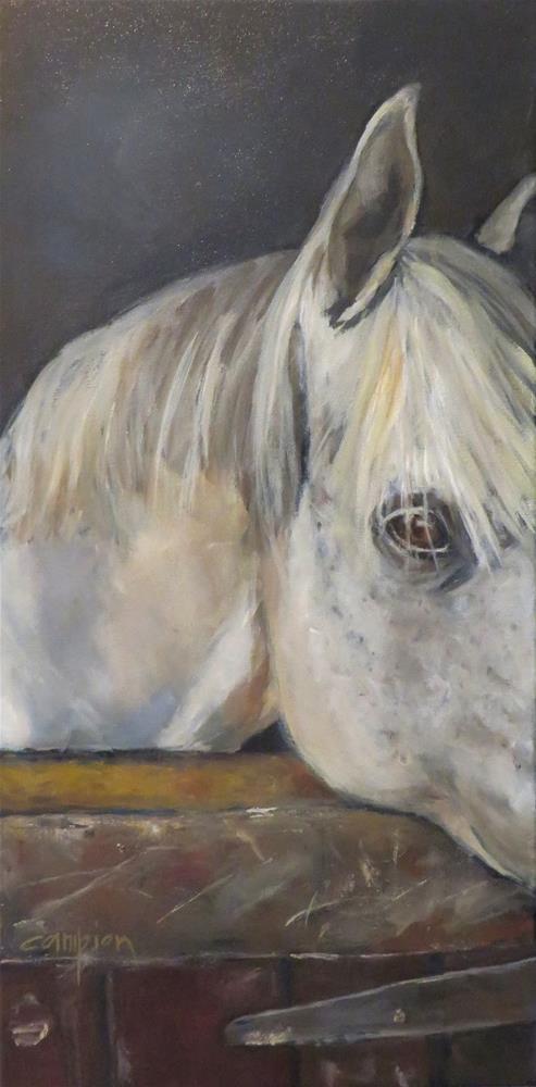 """821  Kronos"" original fine art by Diane Campion"
