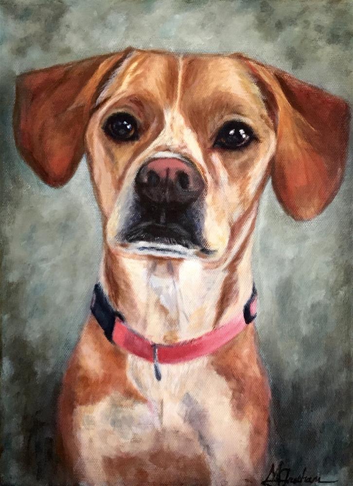 """""""Sadie"""" original fine art by Melissa Gresham"""