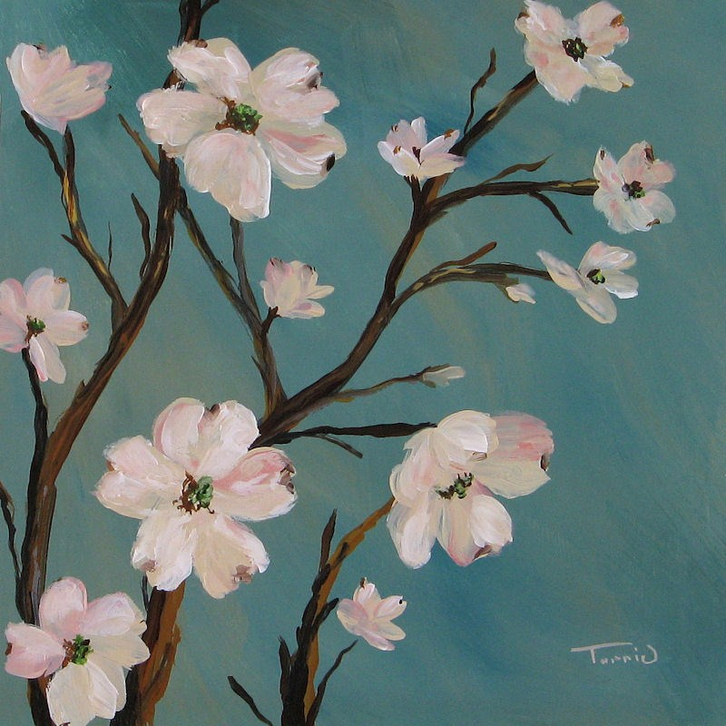 """Dogwood"" original fine art by Torrie Smiley"
