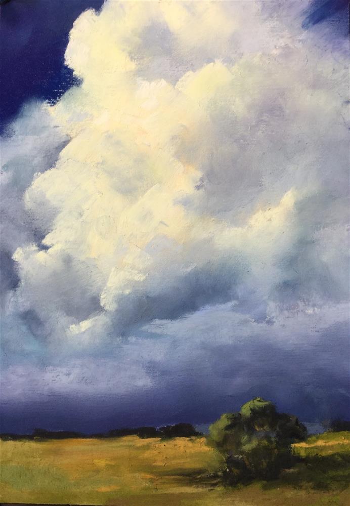 """On the horizon "" original fine art by Jan Hutchinson"