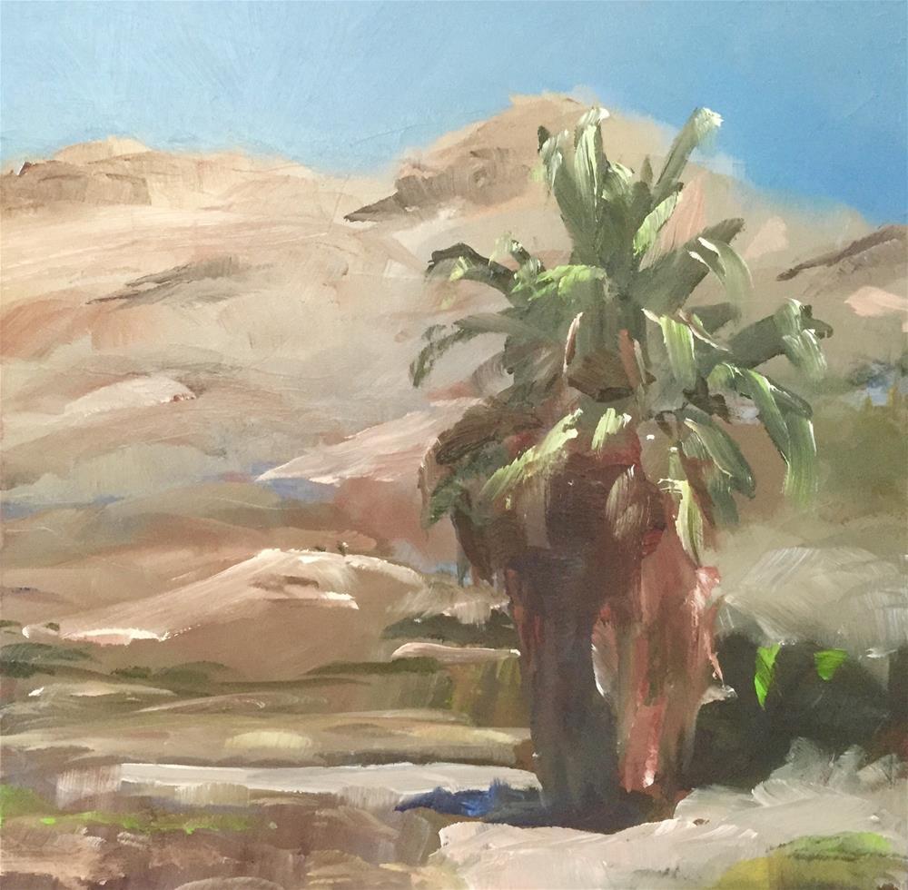 """Indian Canyon"" original fine art by Gary Bruton"