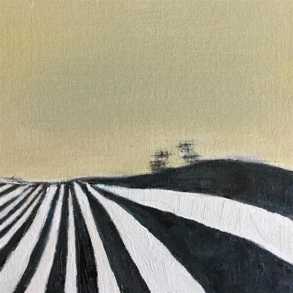 """Zebra fields"" original fine art by pamela kish"