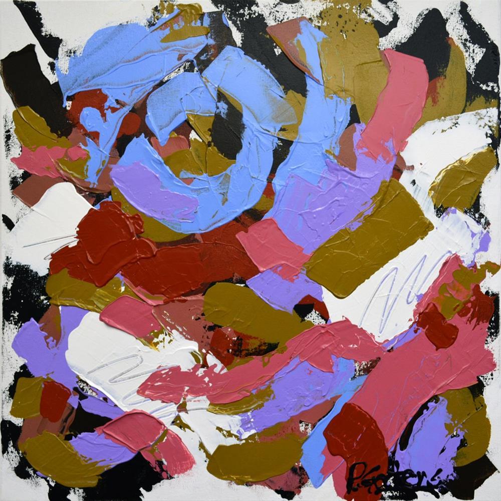 """""""Blue Moon"""" original fine art by Pamela Gatens"""