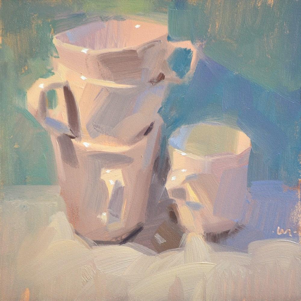 """""""Four More"""" original fine art by Carol Marine"""