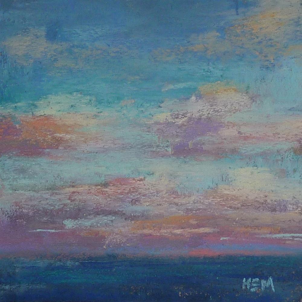 """""""An Effective Way to Paint Better Skies"""" original fine art by Karen Margulis"""